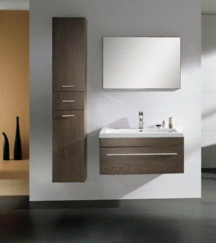 Exceptional Modern Single Sink Bathroom Vanity CabinetM2307