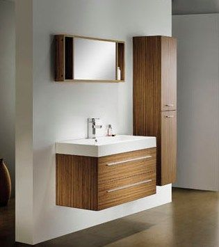 Wall Mounted Bathroom Vanity Cabinet M2312