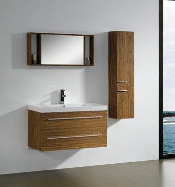 modern bathroom vanity cabinet in melamine m2316 from bathroom