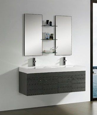 Bathroom Cabinet on Doulbe Sink Bathroom Vanity M1203 From Bathroom Vanity Cabinet