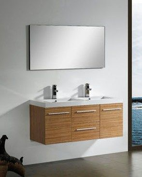 Modern double sink bathroom vanity cabinet M1209 from bathroom ...