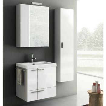 Modern PVC Bathroom Vanity Cabinet Wall Hung,NEW Bathroom Cabinet D3110
