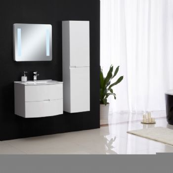 small round white pvc bathroom cabinet on wall bathroom vanity d3130