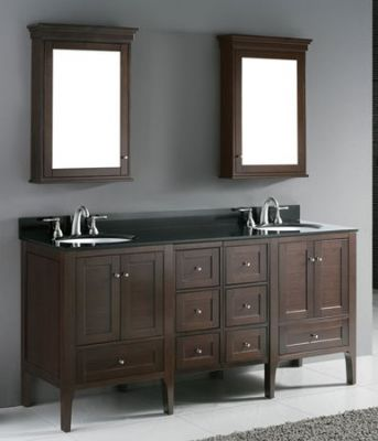 Double Bathroom Vanities on Double Sink Bathroom Vanities Set S1107 From Double Sinks Bathroom