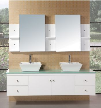 Vanity Bathroom Sinks on Double Bathroom Sink On Double Sink Bathroom Vanities Cabinets S5105