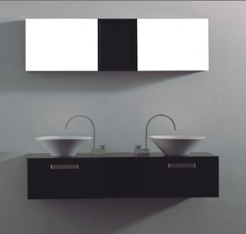 55inc Double Sink Bathroom Vanities Cabinet S5106 From Double Sink Bathroom V