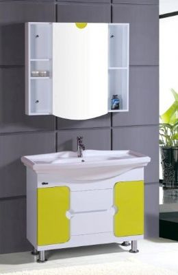 900mm pvc bathroom vanity cabinet p6203 from bathroom for Bathroom cabinet 900mm high