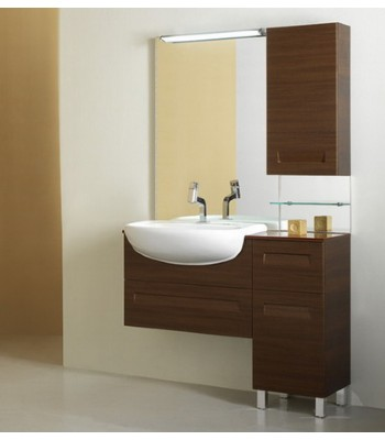 Mdf White Bathroom Cabinet M659