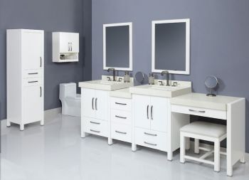 Bathroom Vanity Stools on Modern Bathroom Vanities Set S2101 From Bathroom Vanity Cabinet