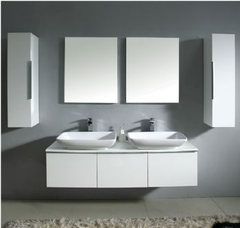 NMF05 1500 Double Mdf Bathroom Vanity Cabinet From Bathroom Vanity