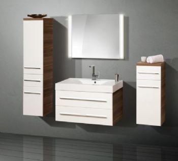 N16191 Laminate bathroom furniture set,melamine from bathroom vanity