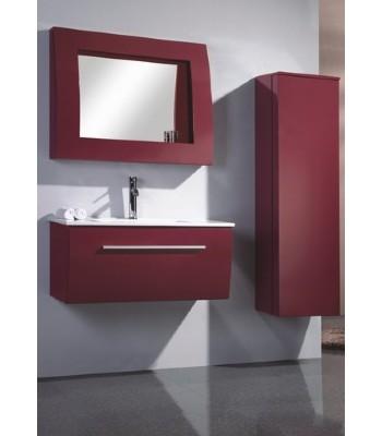 PVC Bathroom Vanity Cabinet in pure RED P688 from Bathroom Vanity ...