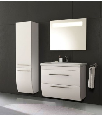 Bathroom Vanity Cabinet In White P698