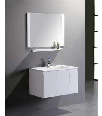 White PVC bathroom vanity cabinet P703 from Bathroom Vanity ...