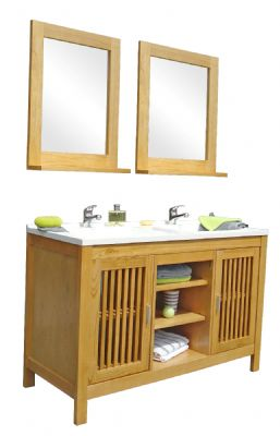 wooden bathroom cabinets 0302 from Solid Wood Bathroom Cabinet