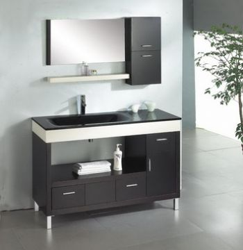48inc Modern Bathroom Cabinet S896 From Black Bathroom