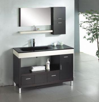 48inc modern bathroom cabinet s896 from black bathroom