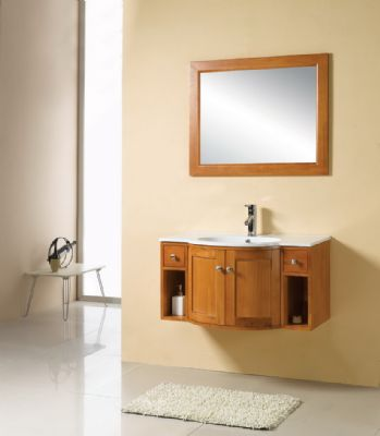 Solid Wood Bathroom Cabinet and Solid Wood Bathroom Cabinet