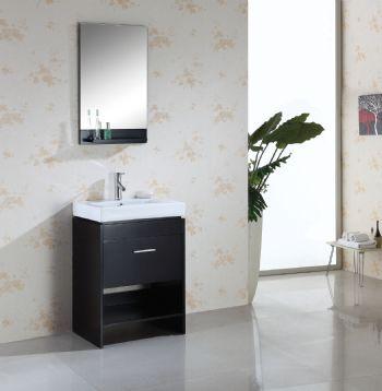 Bathroom Floor Cabinets on Solid Wood Bathroom Vanity S898 From Solid Wooden Bathroom Vanity