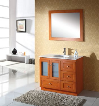 solid wood bathroom vanity S901 from solid wooden bathroom vanity