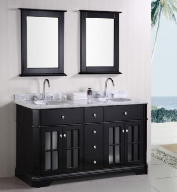 double sinks bathroom vanity s1002 from wooden bathroom cabinet