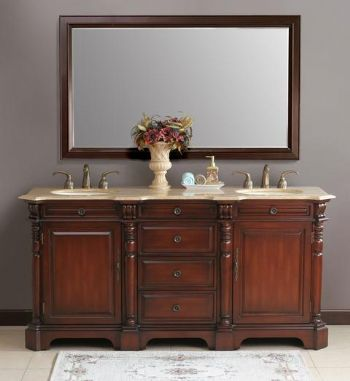 Lovely 72inc Traditional Bathroom Vanities S4101 Part 6