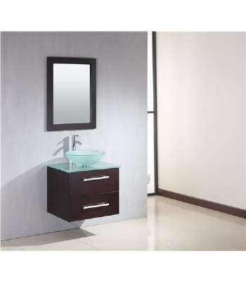 cheap glass sink wooden bathroom furniture s756 from wooden bathroom