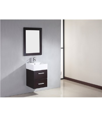 Small Bathroom Cabinets on 18inc Small Wall Mounted Bathroom Vanity From Wooden Bathroom