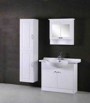 Bathroom Vanity Manufacturers on White Pvc Bathroom Furniture From White Color Pvc Bathroom Cabinet