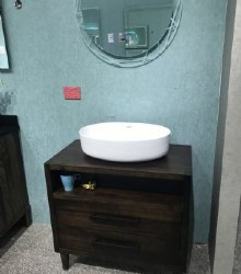 Solid bathroom vanity  1945