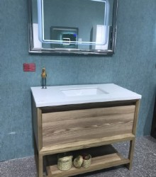 Solid bathroom vanity  1947
