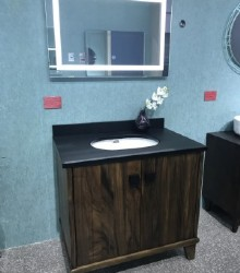 Solid bathroom vanity  1949