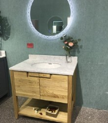 Solid bathroom vanity  1950