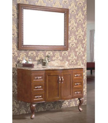 antique style wooden bathroom furniture 5014