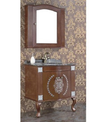traditional wooden bathroom furniture 5015