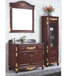 sectional antique wooden bathroom furniture 5016