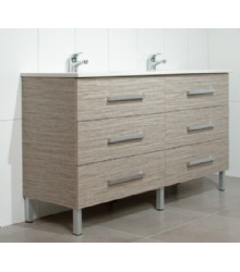 M15066 Mdf Bathroom Vanity Cabinet With Laminte
