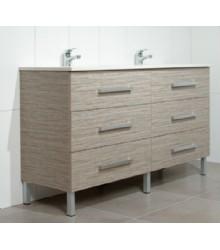 M15066 Mdf Bathroom Vanity Cabinet With Laminte