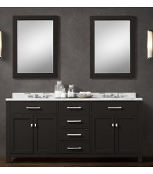 ... BLK02 72 Wooden Bathroom Vanity Cabinet In Black ColorDetails ...