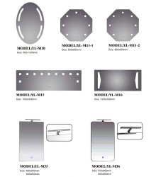Bathroom LED Glass Mirror 2,High quality LED Mirror,LED Bathroom Mirror,China Manufacturer Supplier