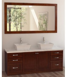 72inc double sink bathroom vanities set S1102