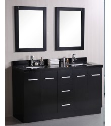 60inc double sink bathroom vanities set S1103