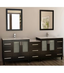 88inc double sink bathroom vanities cabinet set