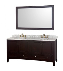72inc doulbe sink bathroom vanities set s1114