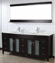 75inc double sink bathroom vanities set s1119