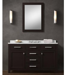 ES02-55 wooden bathroom vanity cabinet in ESPRESSO