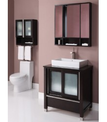 31inc single vessel sink bathroom vanity s2102