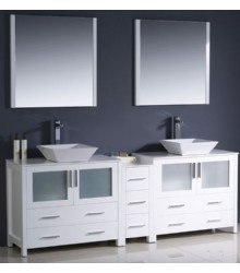 84inc double vessel sinks bathroom vanities s2103