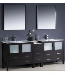 84inc double sink bathroom vanities cabinetss2104