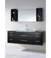 63inc wall mounted bathroom vanities cabinet s2105